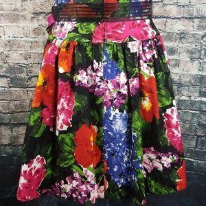 Lillie Rubin Dresses - Lillie Rubin Vintage Floral Party Dress
